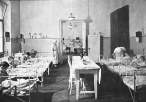 חדר בבית החולים