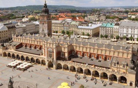 מדריך למסייר במרכז קרקוב