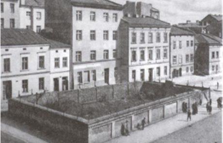 """בית העלמין """"העתיק"""" ברחוב שרוקה"""