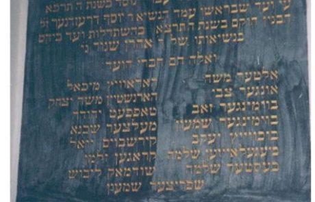 זכרונותיהם של שלמה וישראל בסטר