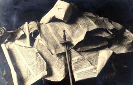 גורלם של ספרי-התורה שבקרקוב