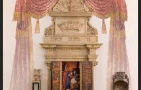 תערוכה על בית הכנסת הישן בקרקוב