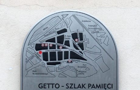 נתיב הזיכרון בגטו קרקוב